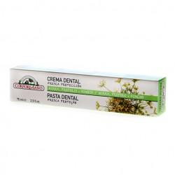 Crema dental dentrífico Mirra Propolis Hinojo Córpore Sano 75 ml.