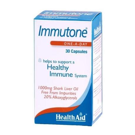 IMMUTONE OLI DE FETGE DE TAURÓ HEALTH AID 30 càpsules