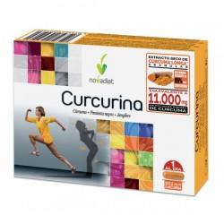 Curcurina Cúrcuma + Pimienta Nega + Jenjibre Novadiet 30 cápsulas