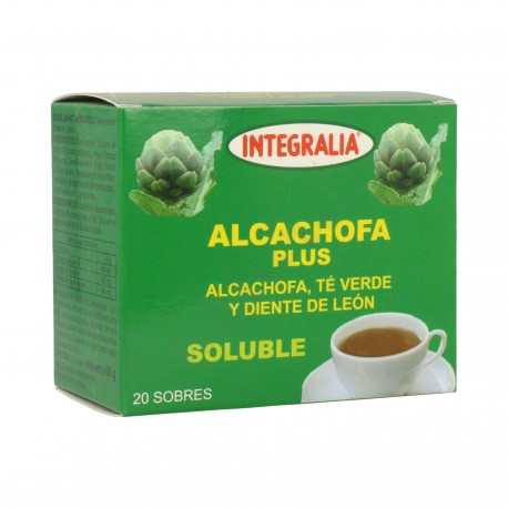 ALCACHOFA PLUS SOLUBLE INTEGRALIA 20 sobres