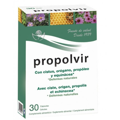 PROPOLVIR. BIOSERUM. 30 comprimits.
