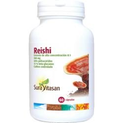 Reishi 500 mg. Sura Vitasan 60 càpsules