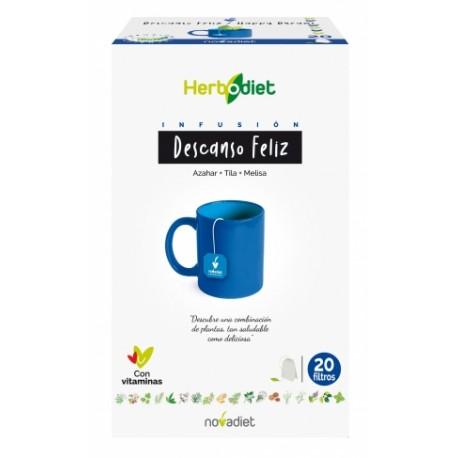 HERBODIET DESCANSO FELIZ. DESCANS FELIÇ. NOVA DIET. 20 infusions.