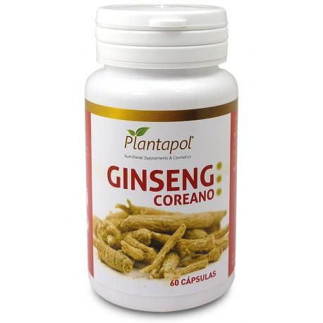 Ginseng coreano - Plantapol - 60 cápsulas