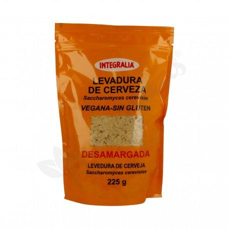 LEVADURA DE CERVEZA DESAMARGADA EN COPOS VEGANO SIN-GLUTEN INTEGRALIA 225 g.
