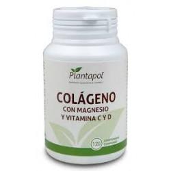Colágeno con Magnesio y Vitamina C y D Plantapol 120 comprimidos