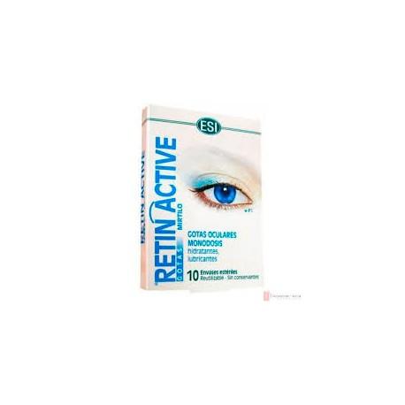 RETIN ACTIVE MONODOSIS. ESI - TREPAT DIET. 10 unitats de 0,5 ml.