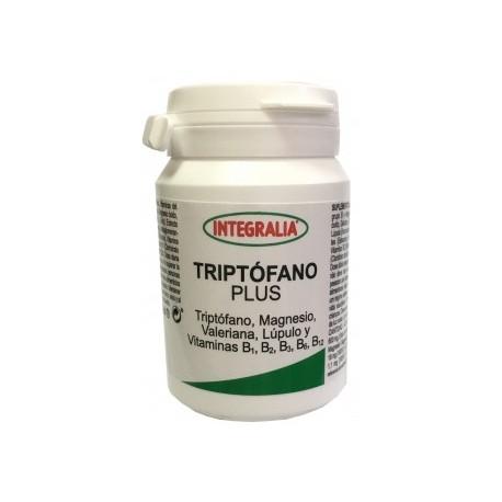 TRIPTÒFAN PLUS - Triptòfan, Magnesi, Valeriana, llúpol, i vitamines B1, B2, B3, B6 i B12 INTEGRALIA