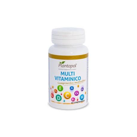 MULTIVITAMINICO MASTICABLE PLANTAPOL 60 comprimidos