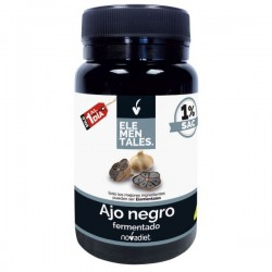 Ajo negro fermentado Elementales Novadiet 30 cápsulas