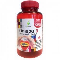 Omepa 3 Aceite de pescado Omega 3 + Vitamina E Novadiet 90 cápsulas