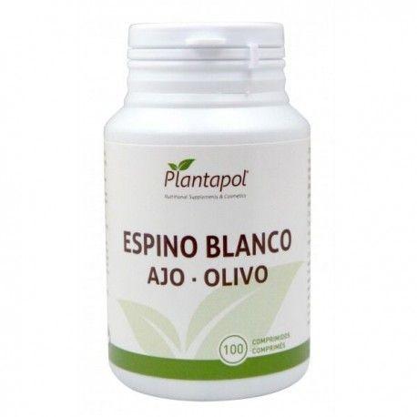 ESPINO BLANCO - AJO - OLIVO PLANTAPOL 100 comprimidos
