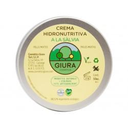 Crema Hidronutritiva a la sàlvia Cosmètics Giura 50 cc.