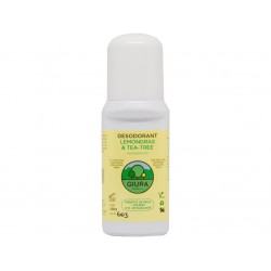 Desodorante Lemongras & Tea-Tree Cosmètics Giura 100 ml.