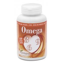 Omega 3 - 6 - 9 Plantapol 120 perlas