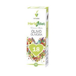 Olivo Olea europaea Extracto fluido Herbodiet Novadiet 50 ml.