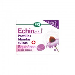 Echinaid Pastillas Blandas Suizas + Equinácea Sabor Cereza ESI 50 g.