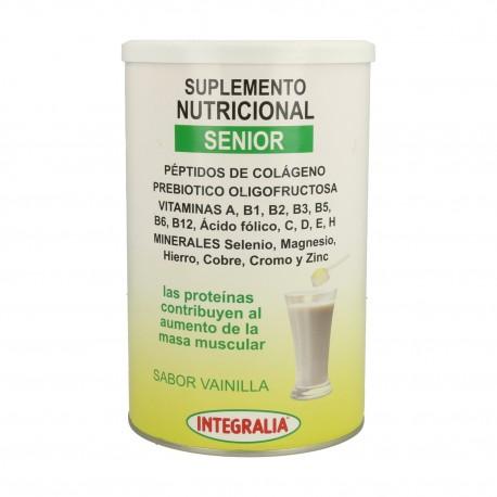 SUPLEMENTO NUTRICIONAL SENIOR SABOR VAINILLA INTEGRALIA 340 g.