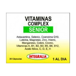 Vitamines Complex Senior Integralia 30 càpsules