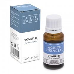 Tomillo Thymus vulgaris Aceite esencial Plantapol 12 ml.