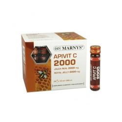 Apivit C 2000 gelea reial amb vitamina C Marnys 20 vials