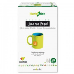 Herbodiet Eficacia Renal Novadiet 20 infusions