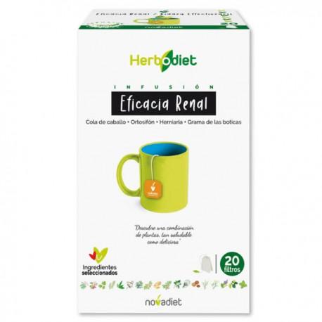 HERBODIET EFICACIA RENAL. NOVA DIET. 20 infusiones
