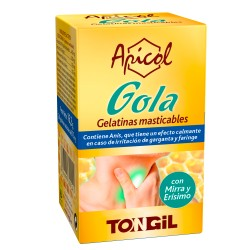 Gola Apicol Tongil 24 gelatinas masticables