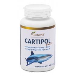 Cartipol Plus Cartilago de Tiburón 750 mg. + Selenio Plantapol 120 cápsulas