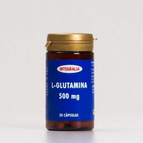 L-GLUTAMINA 500 mg INTEGRALIA 50 cápsulas