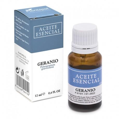 GERÁNEO Perlagonium graveolens ACEITE ESENCIAL PLANTAPOL 12 ml.