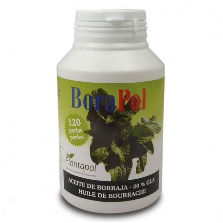 BORAPOL PLANTAPOL 120 perlas de aceite de Borraja