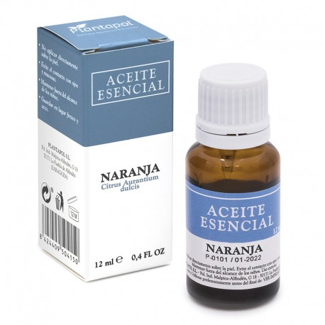 NARANJA ACEITE ESENCIAL Citrus dulcis PLANTAPOL 12 ml.