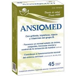 Ansiomed Grifonia, triptòfan, llúpol, vitamines grup B Bioserum 45 càpsules