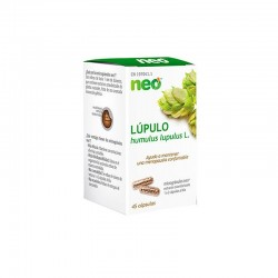 Llúpol Microgrànuls Neo Ajuda a mantenir una menopausa confortable 45 càpsules