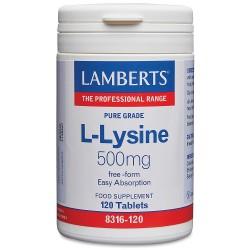 L-LISINA 500 MG. LAMBERTS. 90 comprimidos.