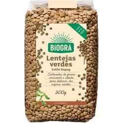 Lentejas Verdes Estilo Dupuy Biogrà 500 g