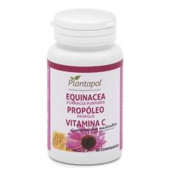 Equinacea + Propolis + Vitamina C Plantapol 60 comprimits