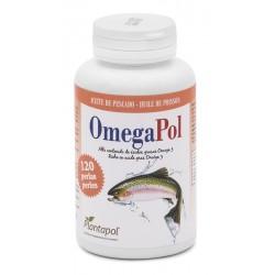 Omegapol Plantapol aceite de salmón 120 perlas 500 mg.