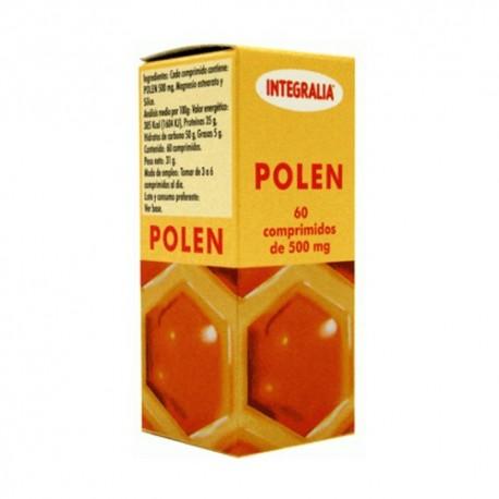 POLEN. INTEGRALIA. 60 comprimidos de 500 mg.