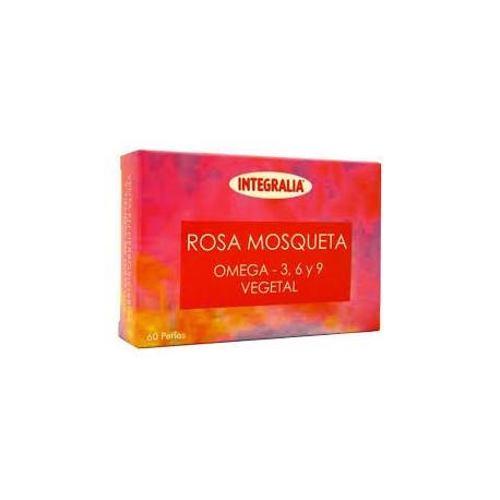 ROSA MOSQUETA OMEGA 3-6-9. INTEGRALIA. 60 perles de 500 mg.