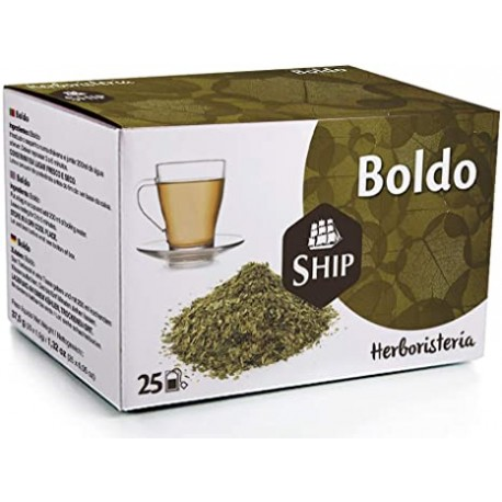 BOLDO SHIP 25 bossetes d'infusions
