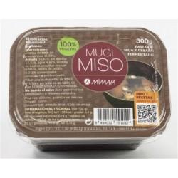 Mugi Miso soja y cebada fermentada No pasteurizado Mimasa 300 g.