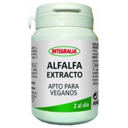 Alfalfa Extracto Apto Para Veganos Integralia 60 cápsulas