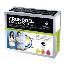 Cronodel Dia & Noche Novadiet 30 cápsulas
