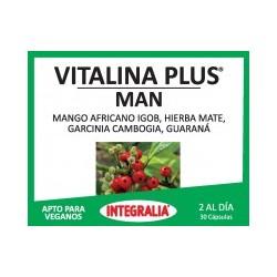 Vitalina Plus Man Apto Para Veganos Integralia 30 cápsulas