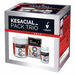 Kesacial_ PACK TRÍO Kesacial_ + Kesacial_ Batido + Kesacial_ Sales Novadiet