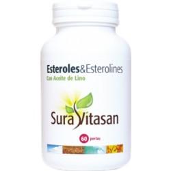 Esteroles & Esterolines amb oli de llinet Sura Vitasan 60 perles