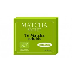Matcha Secret Té Matcha Soluble Integralia 20 sobres