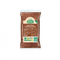 Cacau pur en pols semidesgreixat Biogrà - Sorribas 250 g.